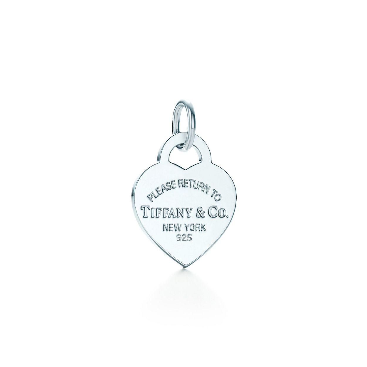Tiffany Charms heart tag in sterling silver, medium Tiffany & Co.