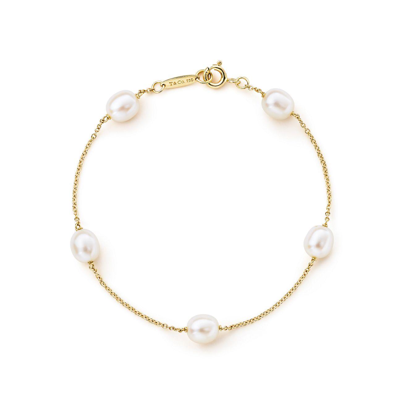 Elsa Peretti Pearls by the Yard bracelet in sterling silver - Size Tiffany & Co.