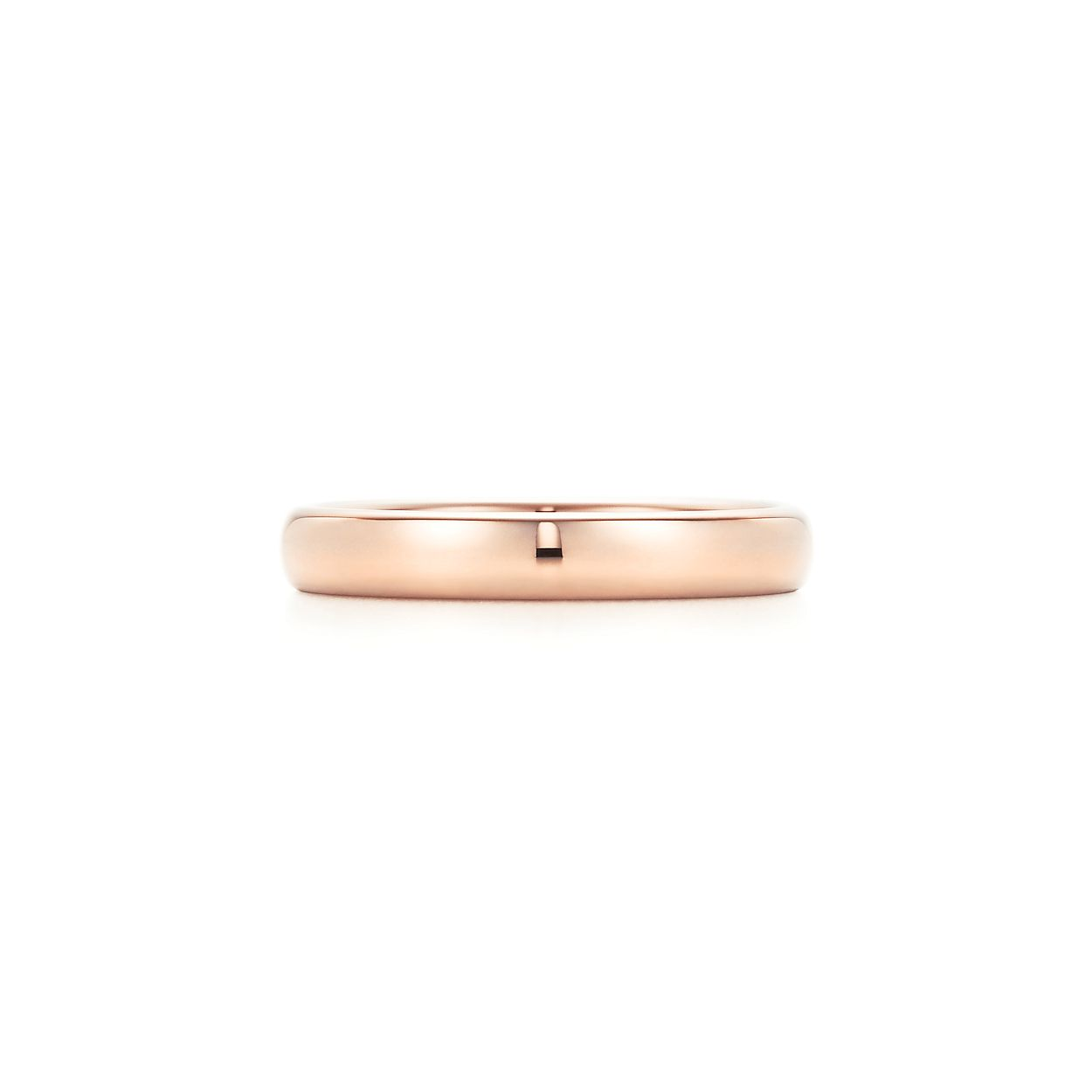 Tiffany Classic milgrain wedding band ring in 18k gold, 3 mm wide - Size 5 1/2 Tiffany & Co.