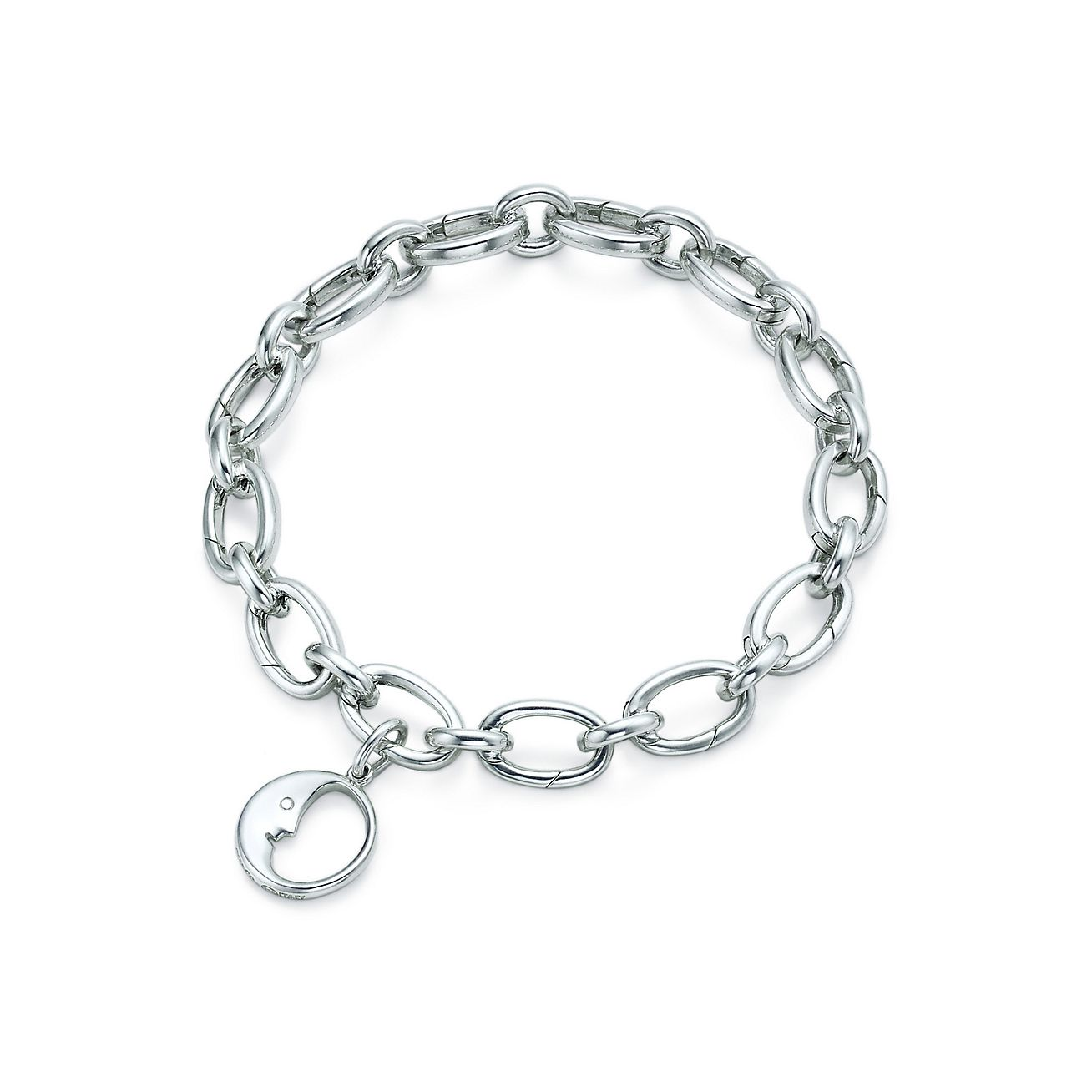 Man in the Moon charm in sterling silver Tiffany & Co.