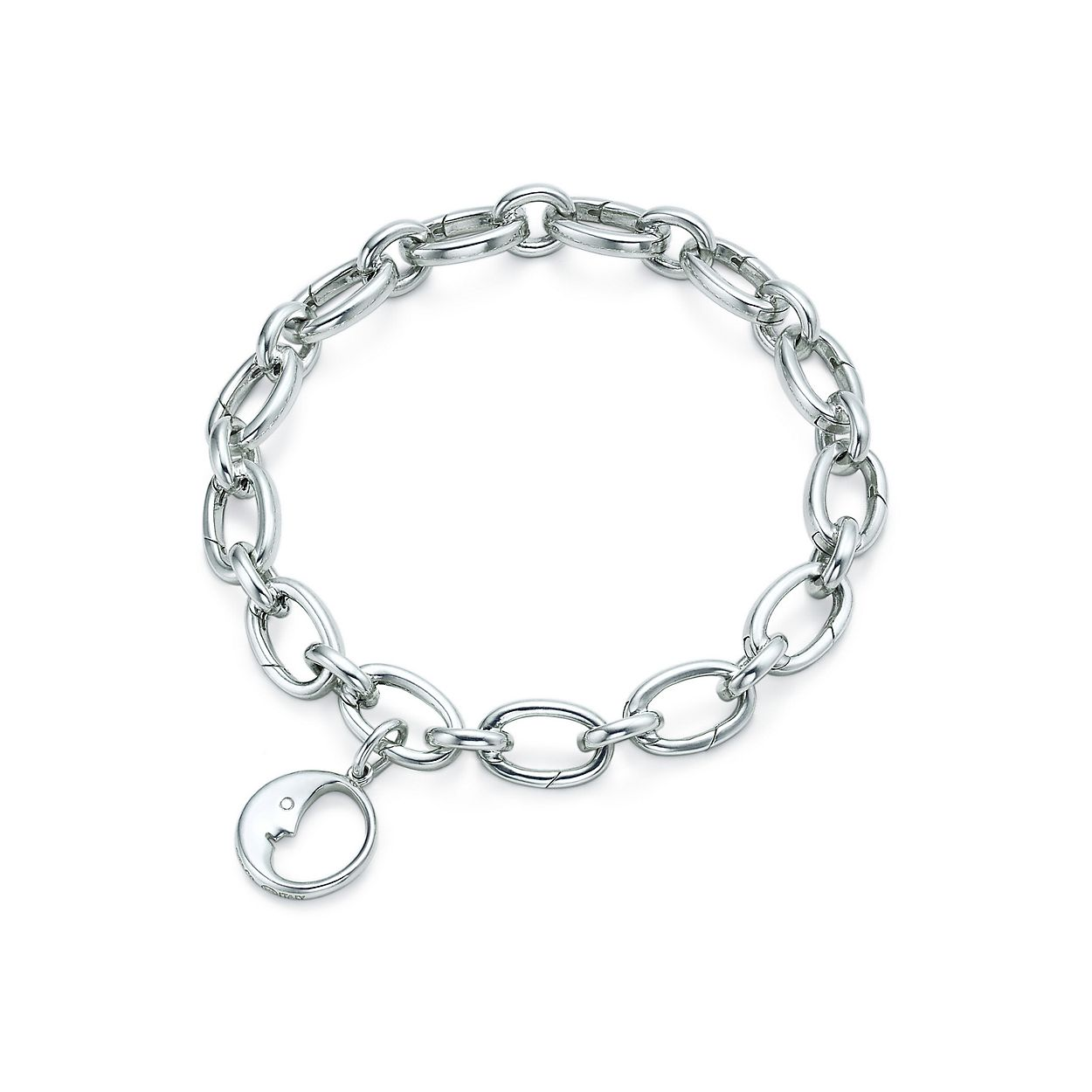 Man in the Moon charm in sterling silver Tiffany & Co. 2lL4s1w3