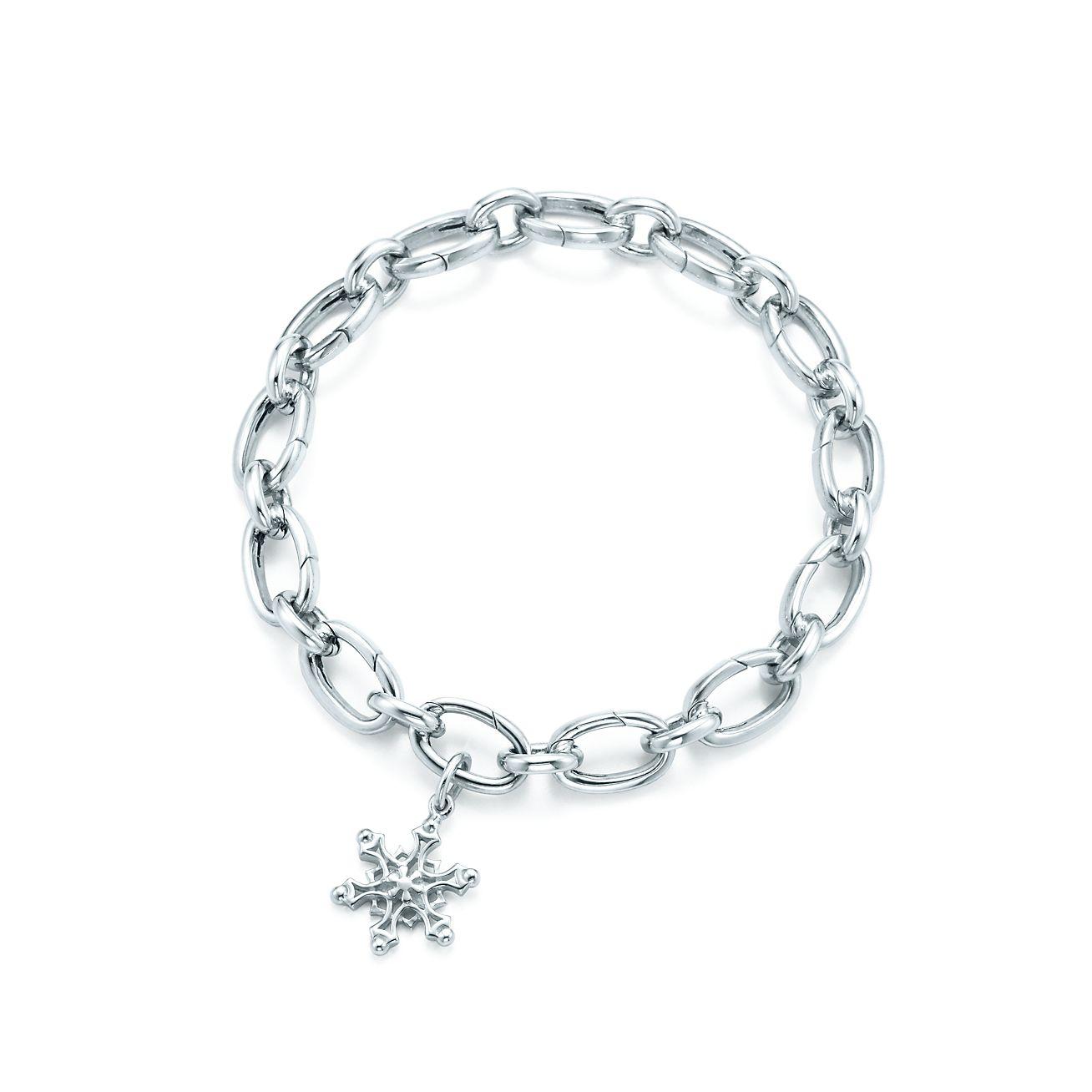 Snowflake Charm And Bracelet
