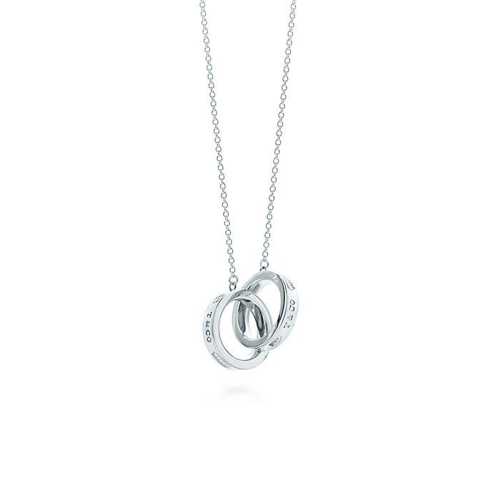 c8669681f Tiffany 1837™ interlocking circles pendant in sterling silver ...