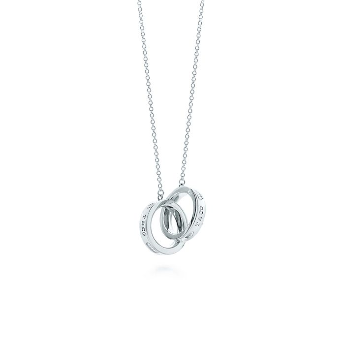 be53af24c Tiffany 1837™ interlocking circles pendant in sterling silver ...