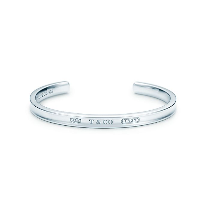 01b6d62bb Tiffany 1837® narrow cuff in sterling silver, medium. | Tiffany & Co.