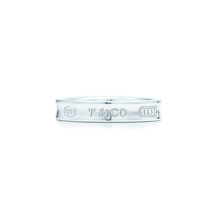 05e2cc0cb Tiffany 1837® narrow ring in sterling silver. | Tiffany & Co.