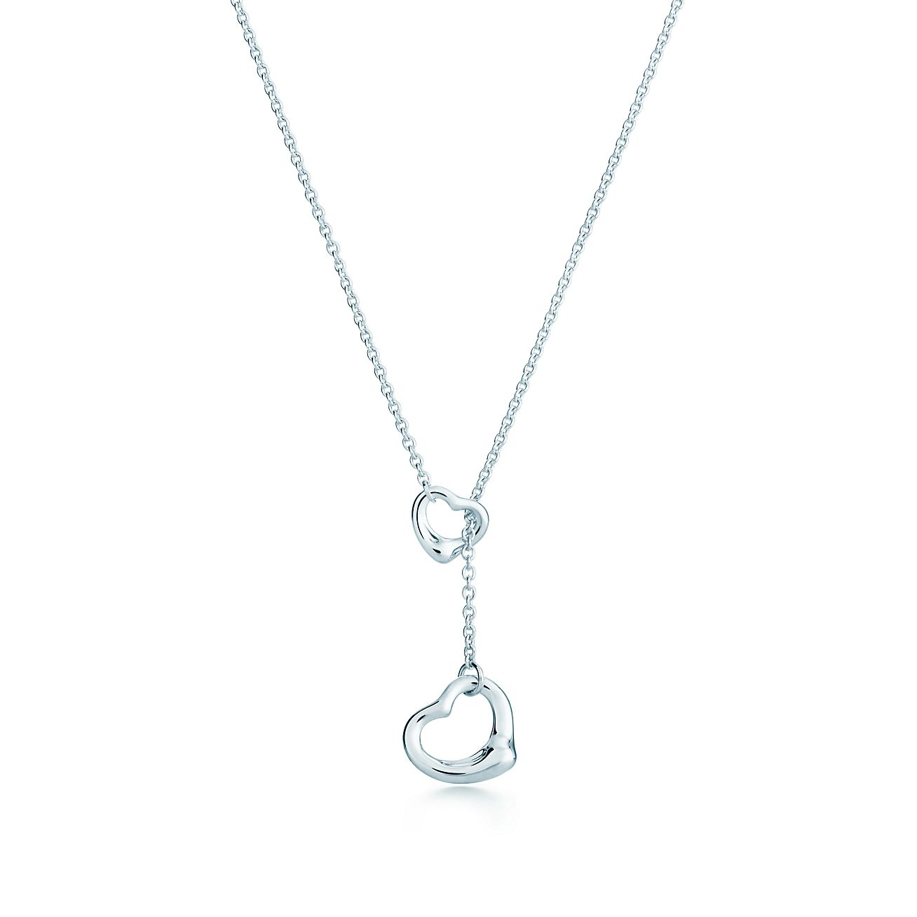 Elsa peretti open heart lariat in sterling silver tiffany co elsa perettiopen heart lariat aloadofball Choice Image