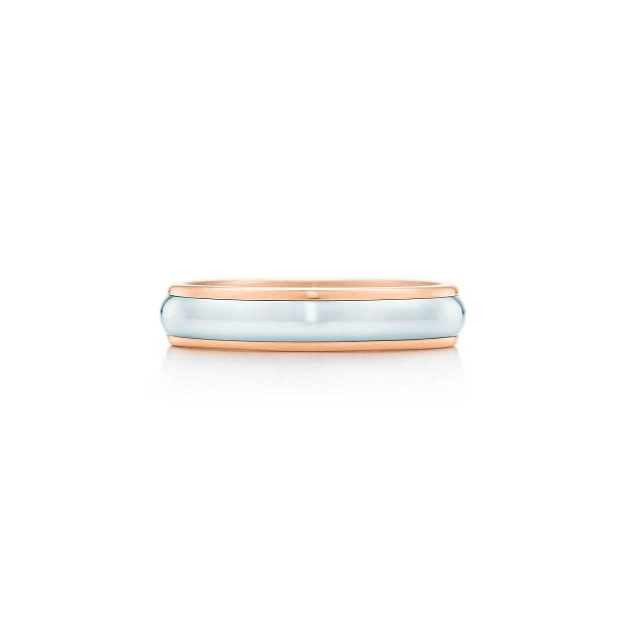Tiffany Classic wedding band ring in platinum, 3 mm wide - Size 11 1/2 Tiffany & Co.