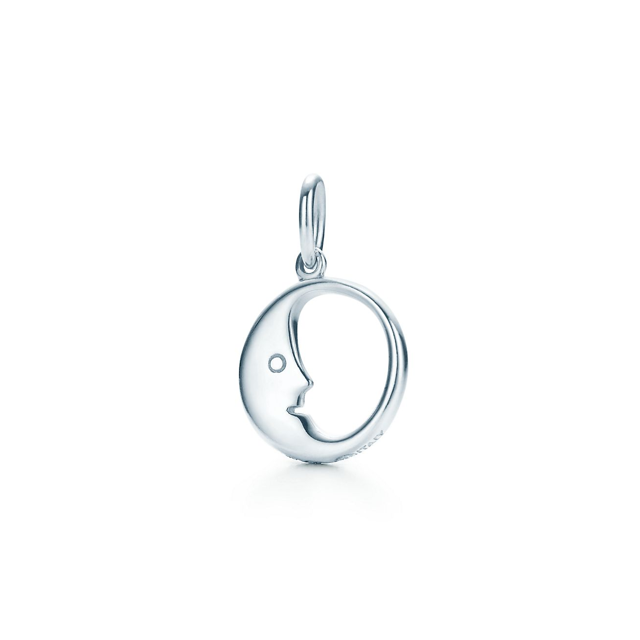 Man In The Moon Charm In Sterling Silver Tiffany Co
