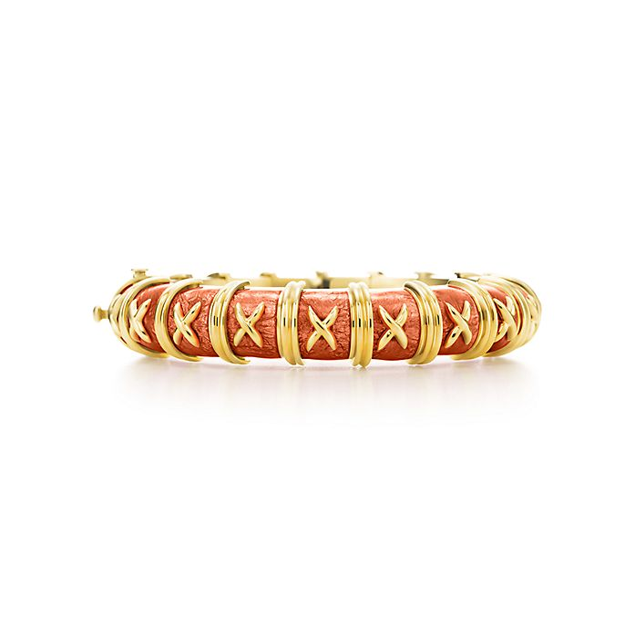 283b27801 Tiffany & Co. Schlumberger Croisillon bracelet in 18k gold with ...