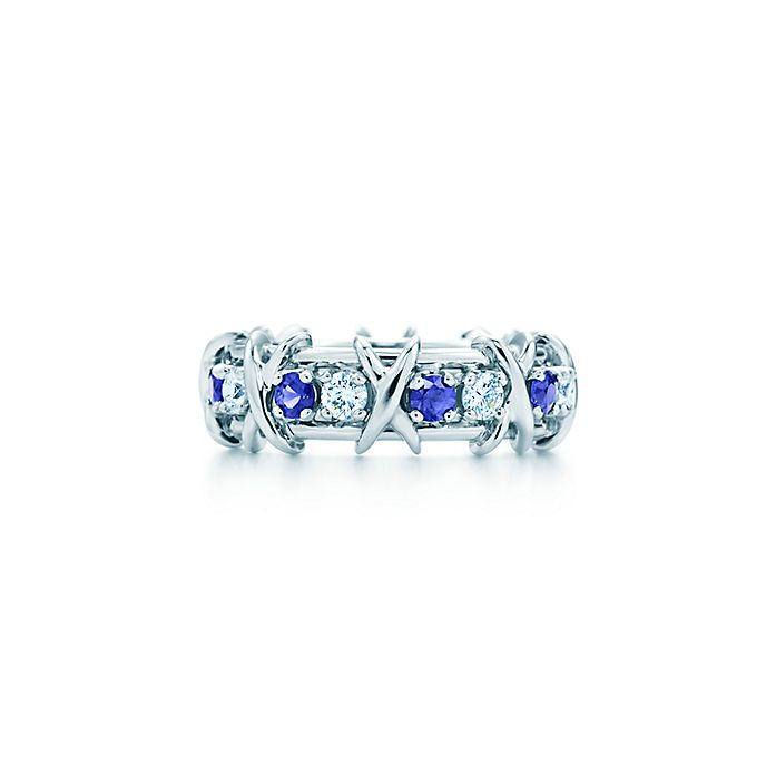 ad5de54e0c0b Tiffany   Co. Schlumberger Sixteen Stone ring with diamonds and ...