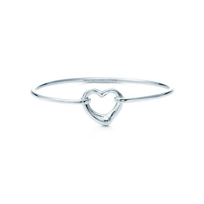 551d29adc Elsa Peretti® Open Heart bangle in sterling silver, medium ...
