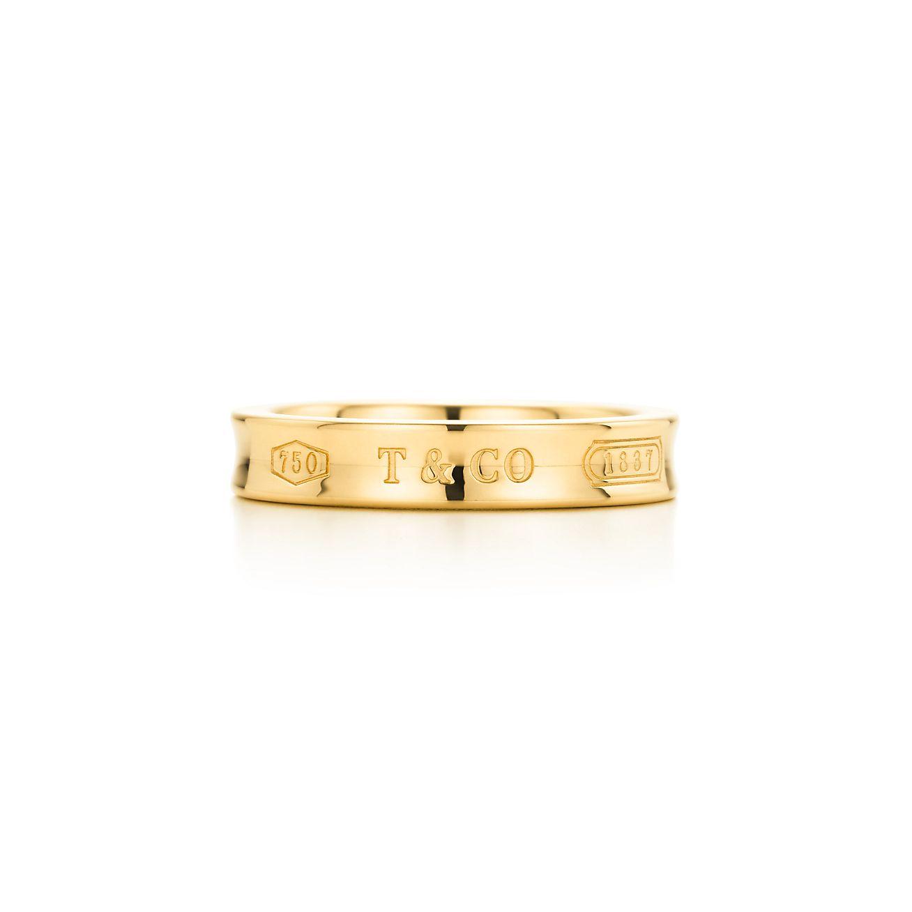 Tiffany 1837 wide ring in Rubedo metal - Size 6 1/2 Tiffany & Co.