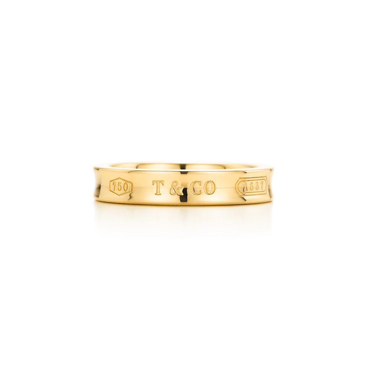 Tiffany 1837 wide ring in Rubedo metal - Size 6 1/2 Tiffany & Co. jhEp8UrZ4