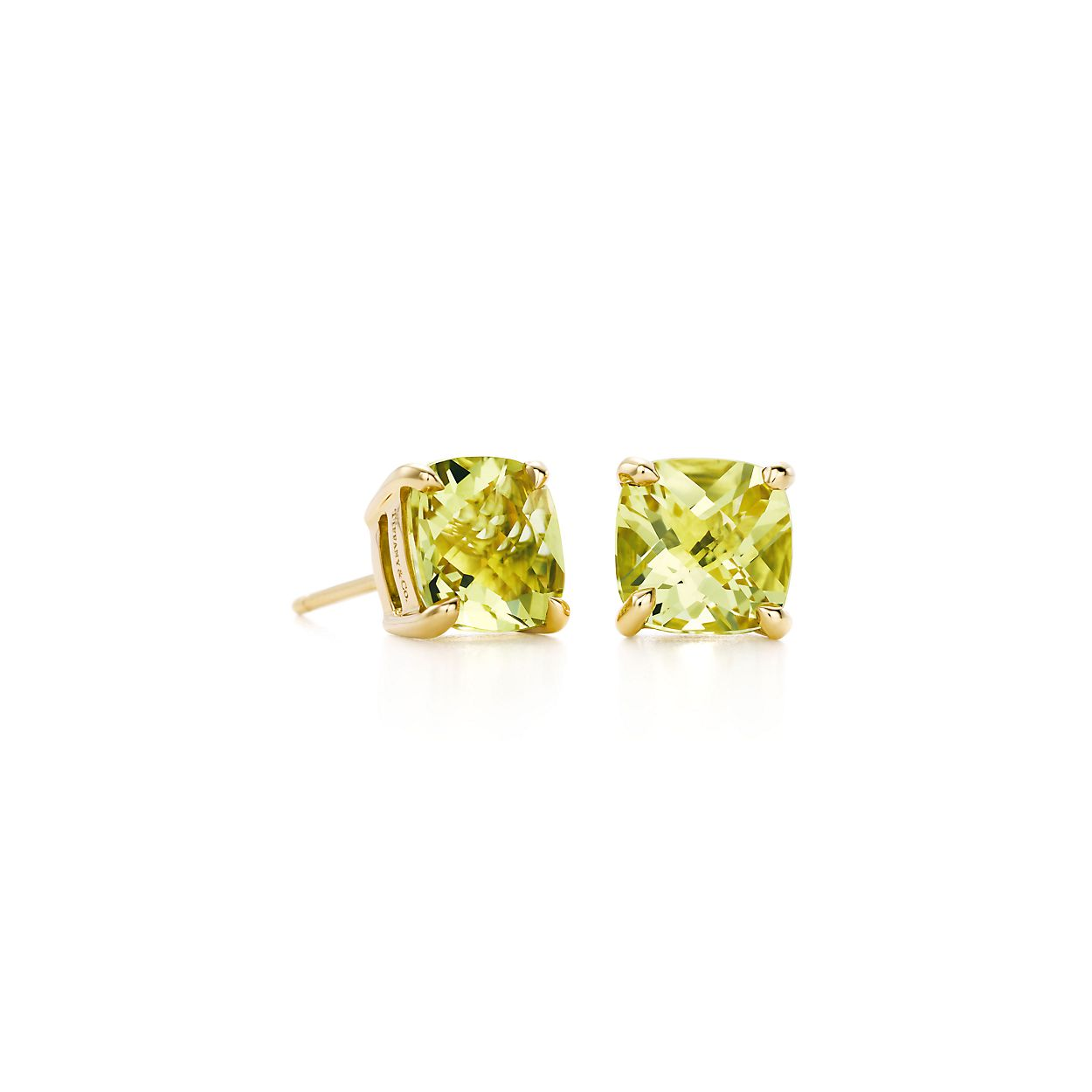 Tiffany Sparklers Yellow Citrine Earrings