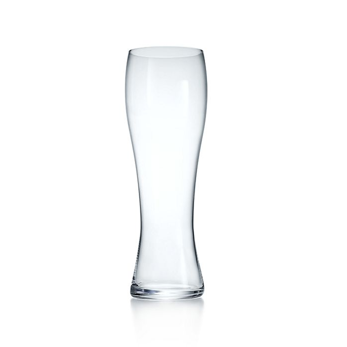 7ff546925cee Wheat beer glass in crystal.