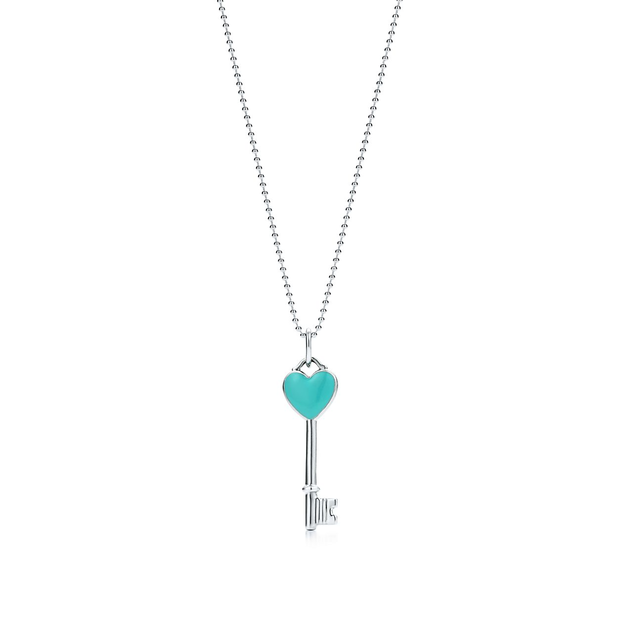 Tiffany Infinity pendant in sterling silver with Tiffany Blue enamel finish Tiffany & Co. yl64A