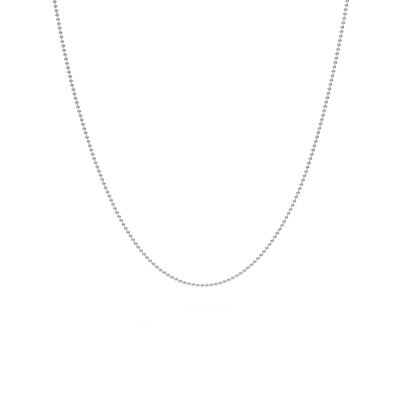 Small beaded chain in sterling silver e19718ccb800