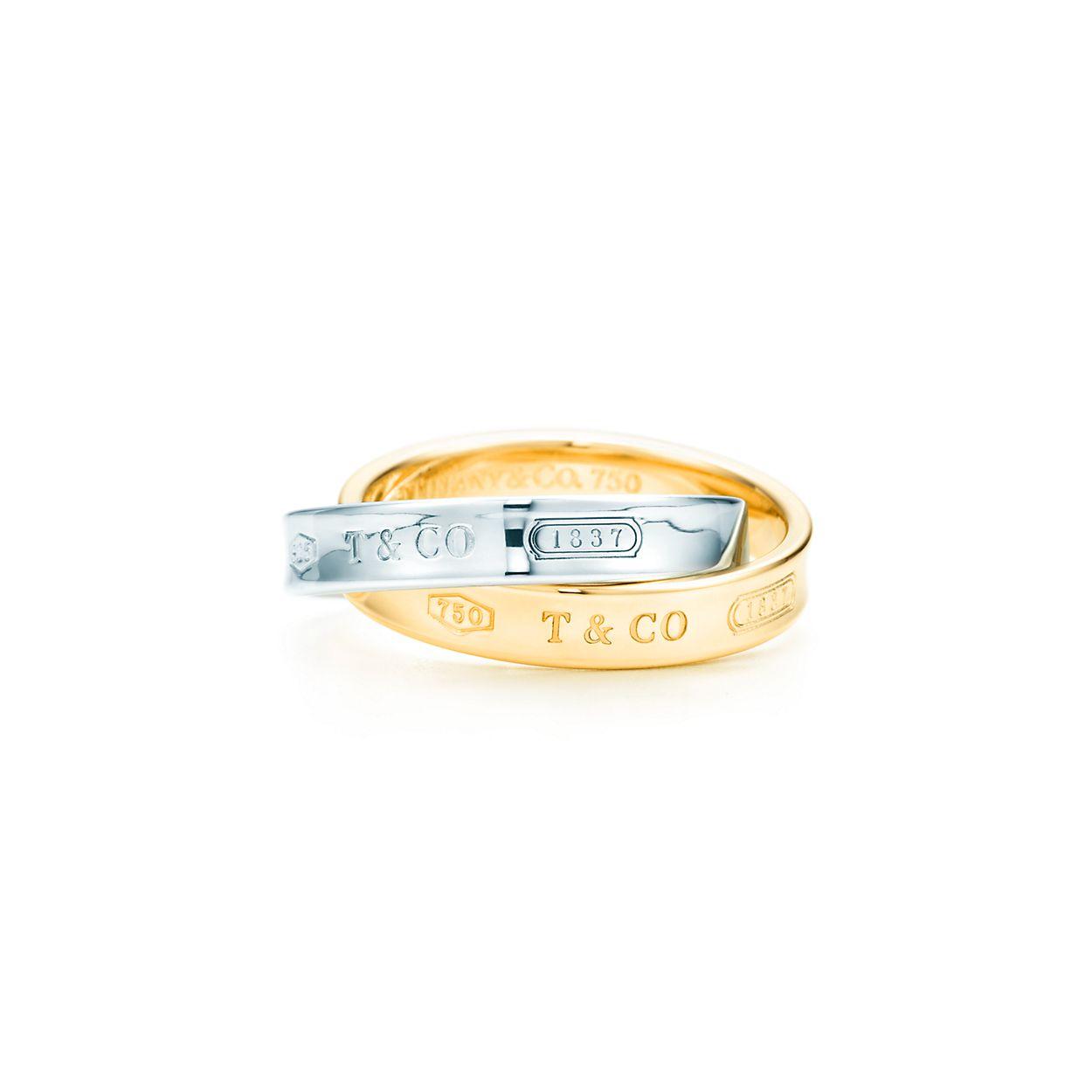Tiffany 1837 interlocking circles ring in sterling silver - Size 6 Tiffany & Co. ek0f4Ytf5