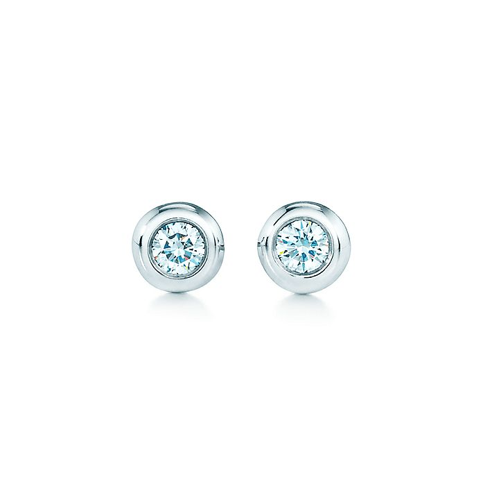 6f7d6d089 Elsa Peretti® Diamonds by the Yard® earrings in sterling silver ...