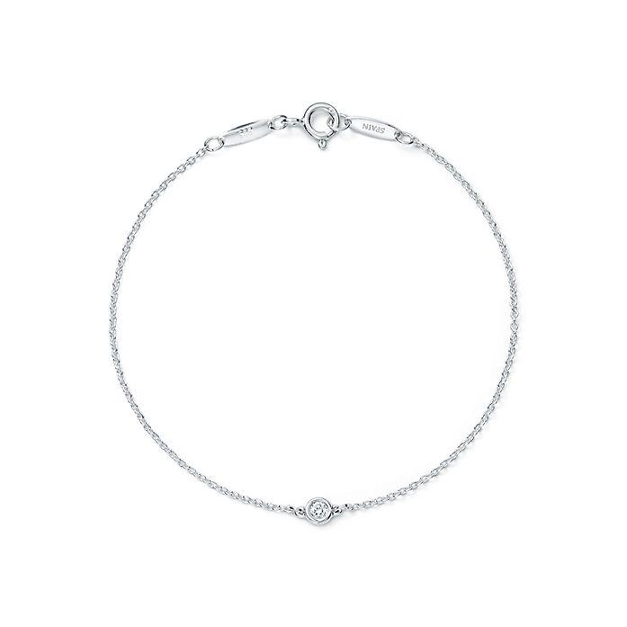 f559a8ff1 Elsa Peretti® Diamonds by the Yard® bracelet in sterling silver ...