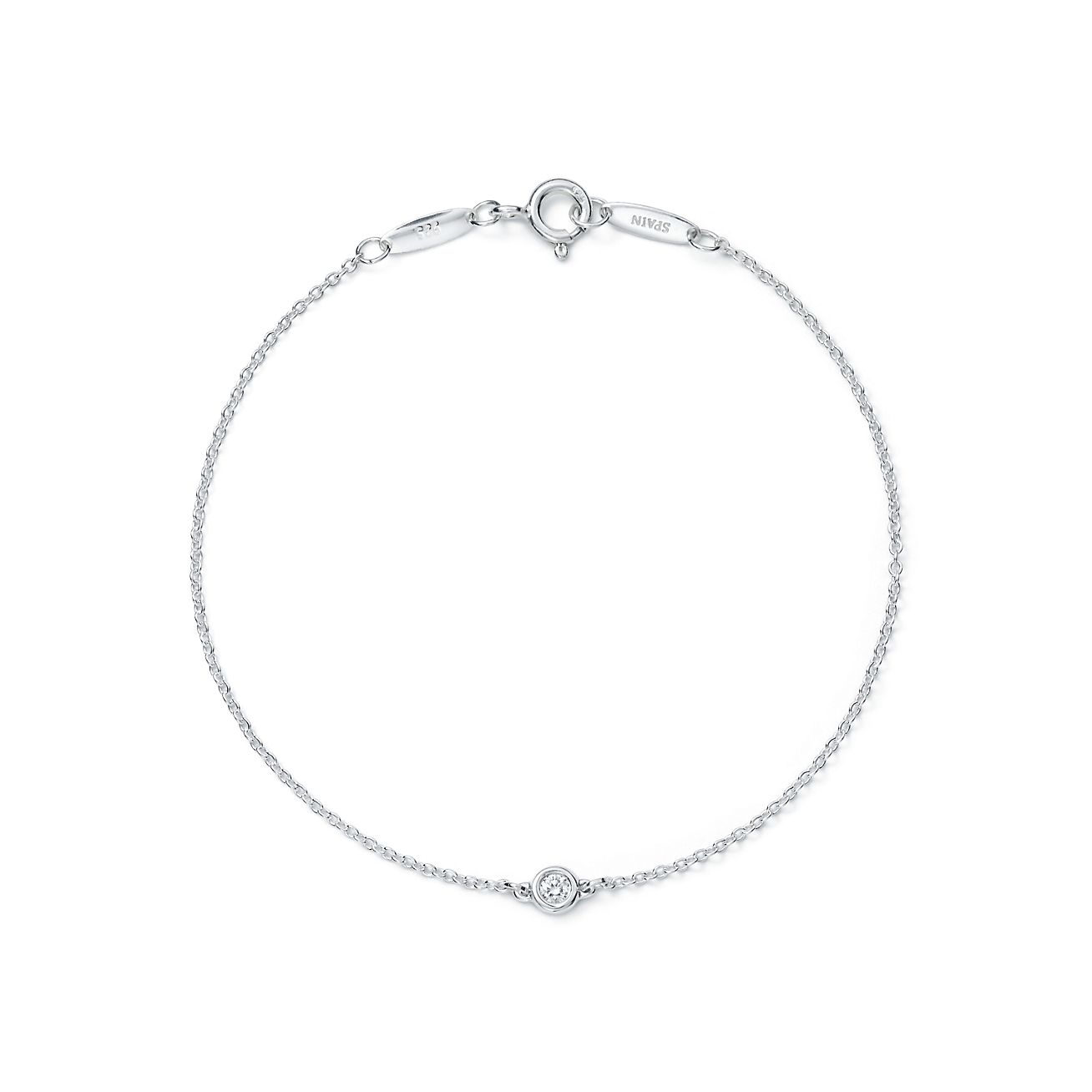 ringsfine m diamond bracelet single cutout intial the format jewelers
