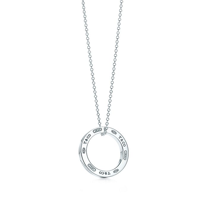 a1746ad3a Tiffany 1837™ pendant in sterling silver on a 16