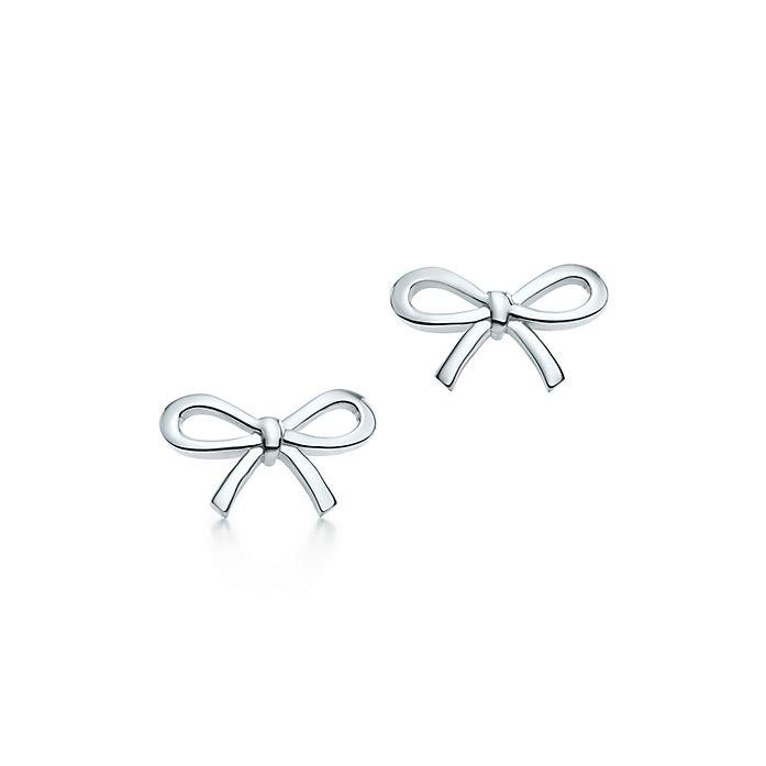 10f6b161ce8e Tiffany Bow earrings in sterling silver