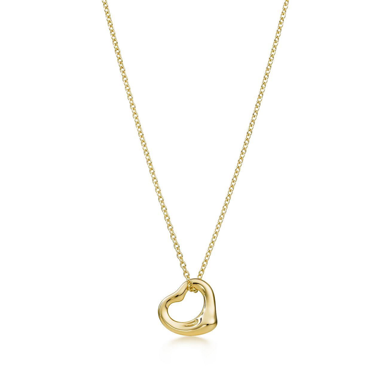 meaning pendant necklace gold open heart the inscribed