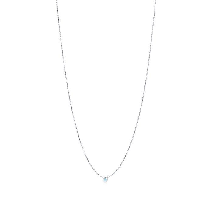 2c5058bb0 Elsa Peretti® Color by the Yard pendant in sterling silver with an ...