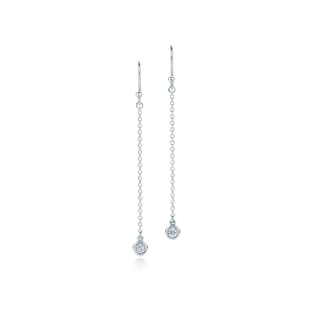 Elsa Peretti Diamonds By The Yard Drop Earrings