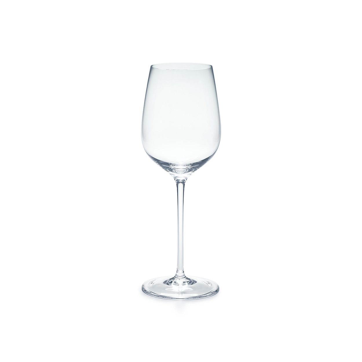 all purpose white wine glass in handmade mouth blown crystal