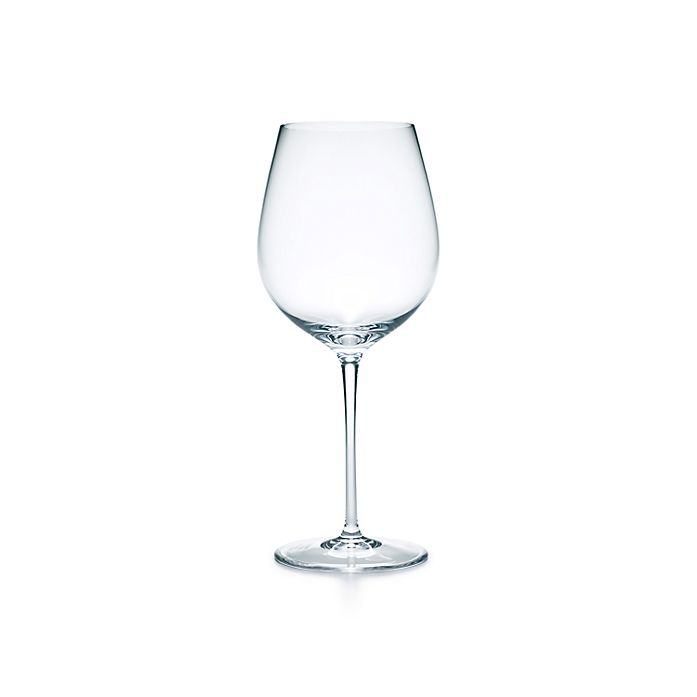 e376871ada1 All-purpose red wine glass in handmade, mouth-blown crystal. | Tiffany & Co.
