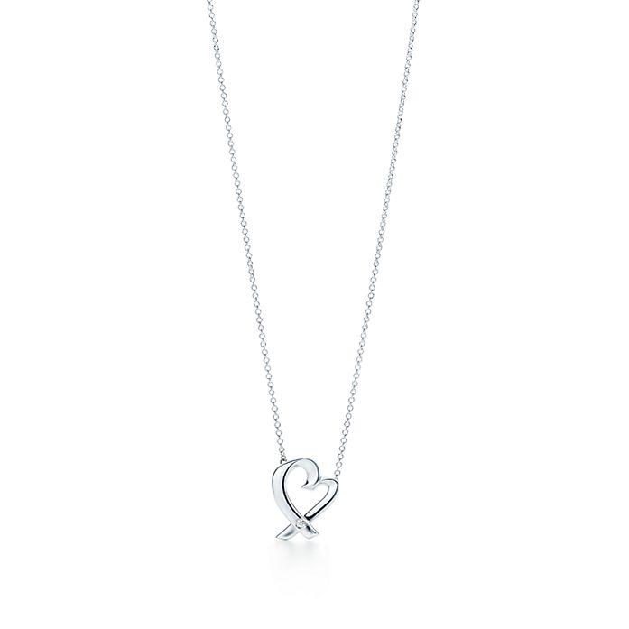 cafe084e5 Paloma Picasso® Small Loving Heart Pendant | Tiffany & Co.