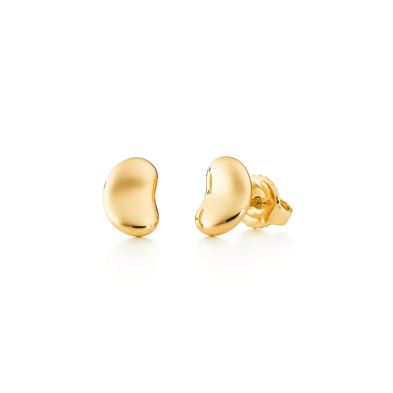 Elsa Peretti Bean earrings in 18k gold - Size 9 MM Tiffany & Co.