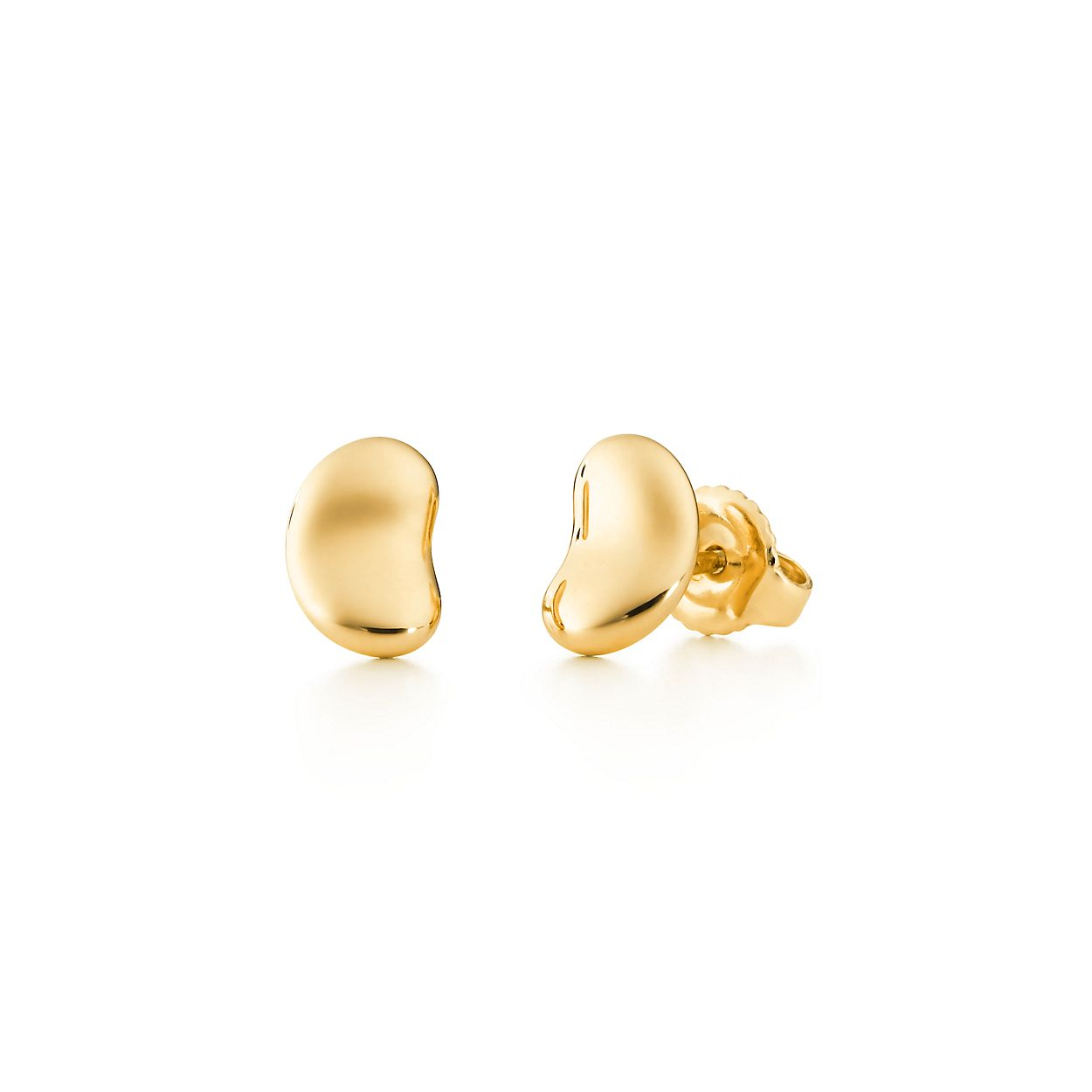 Elsa Peretti Bean earrings in 18k gold - Size 9 MM Tiffany & Co. hcMMQS