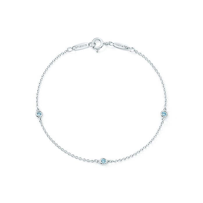 3b2fed33e175 Elsa Peretti® Color by the Yard bracelet in sterling silver with ...