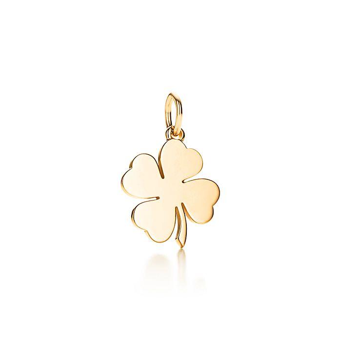 9029617c3 Four Leaf Clover charm in 18k gold. | Tiffany & Co.