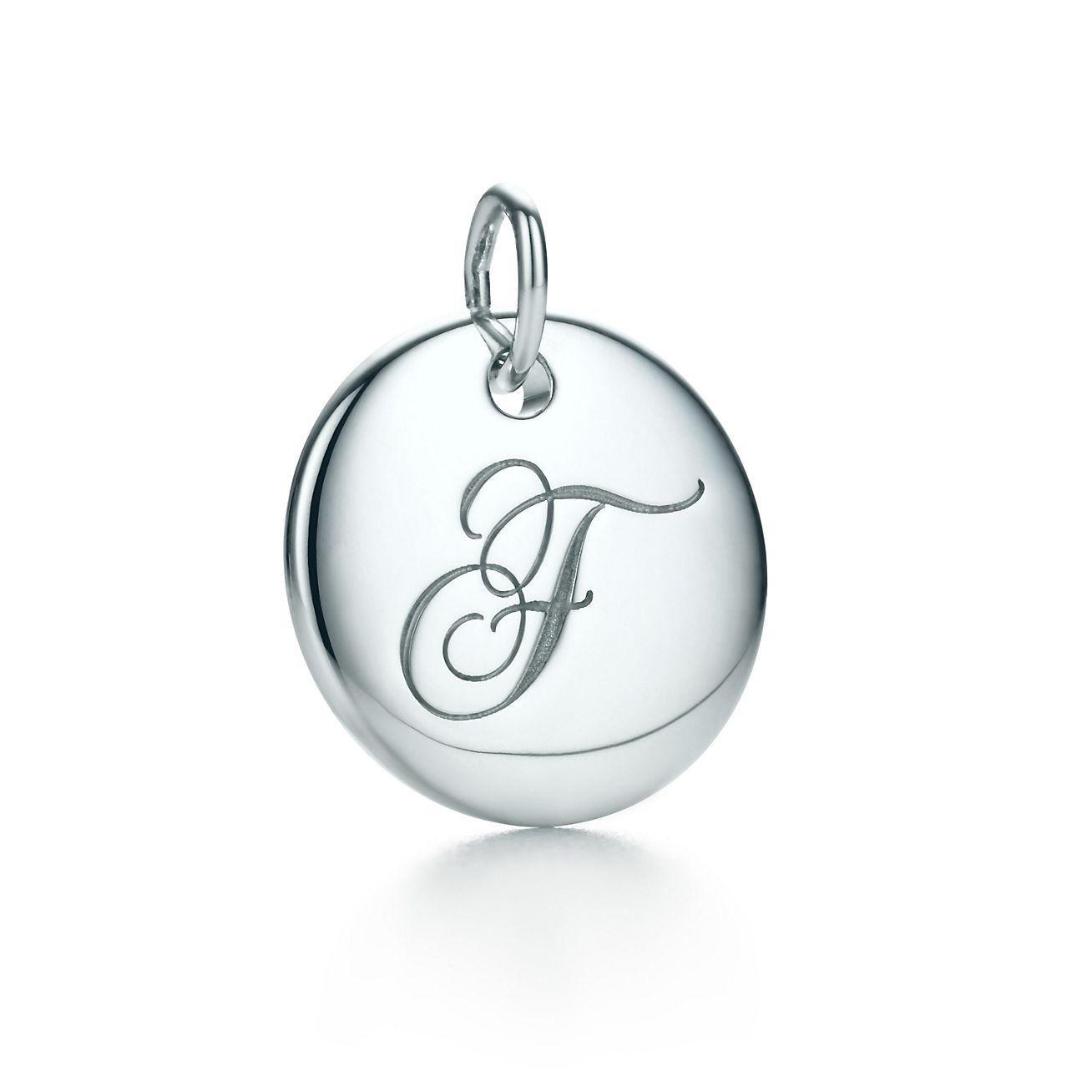 Tiffany Charms alphabet charm in sterling silver Letters A-Z available - Size N Tiffany & Co.