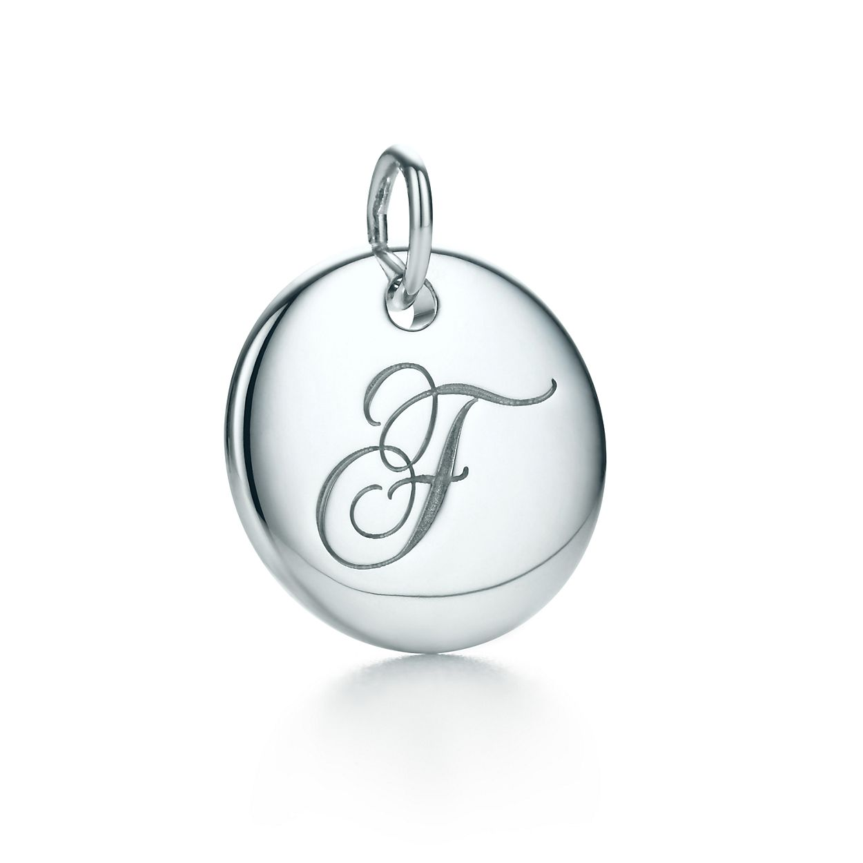 Tiffany Charms alphabet charm in sterling silver Letters A-Z available - Size N Tiffany & Co. 9MNTszXJ
