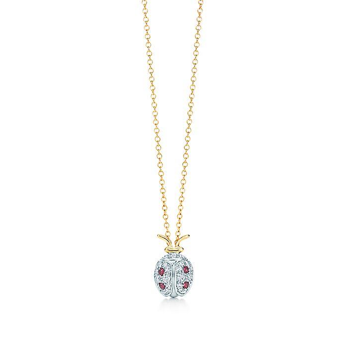 0cc7ea76d Tiffany & Co. Schlumberger® ladybug pendant with diamonds and ...
