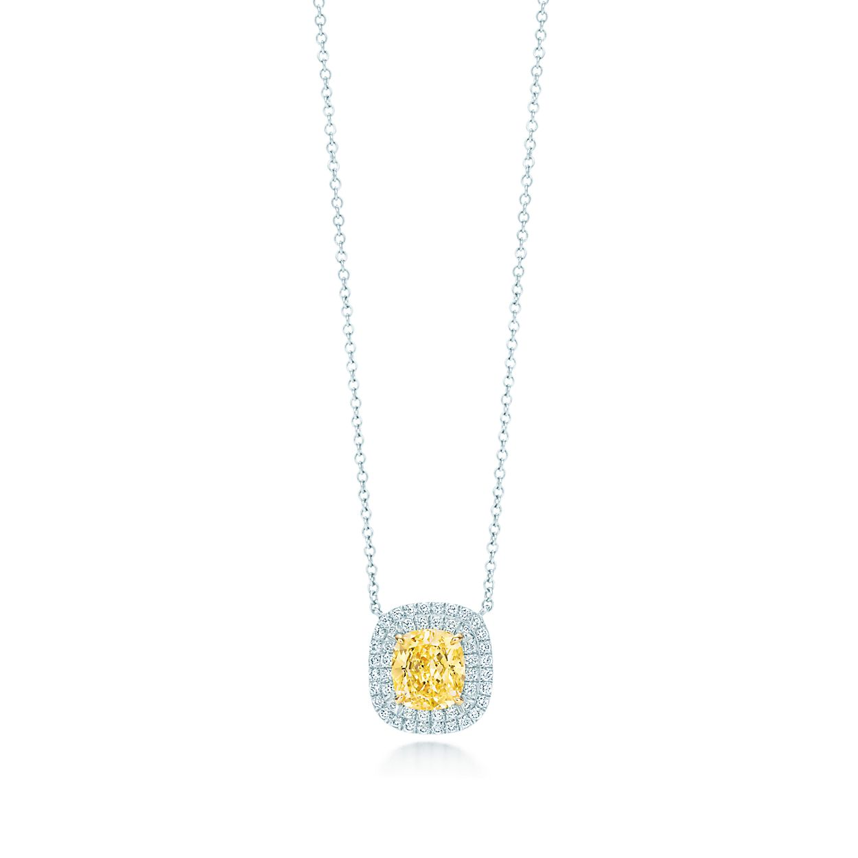 diamond soleste tiffany gold platinum co yellow necklace products authentic white