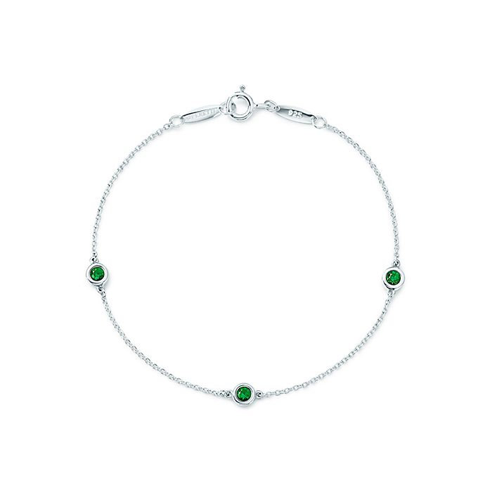 a34bcdeb6 Elsa Peretti® Color by the Yard bracelet in sterling silver with ...