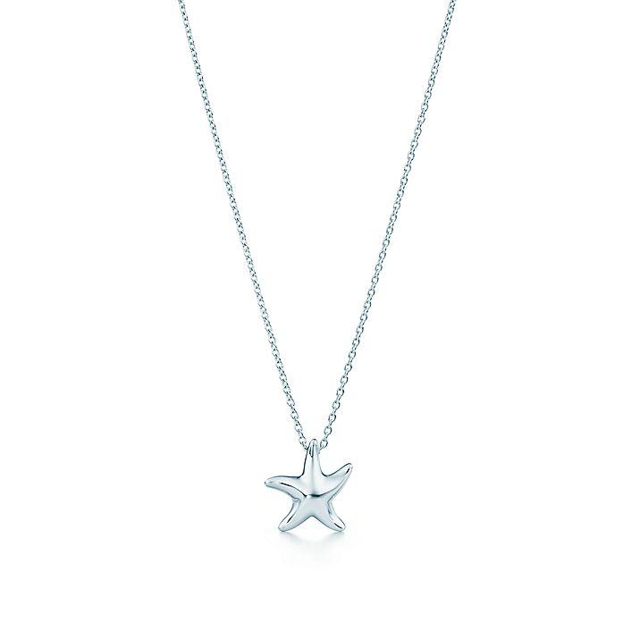 29d409ef3 Elsa Peretti® Starfish pendant in sterling silver. | Tiffany & Co.