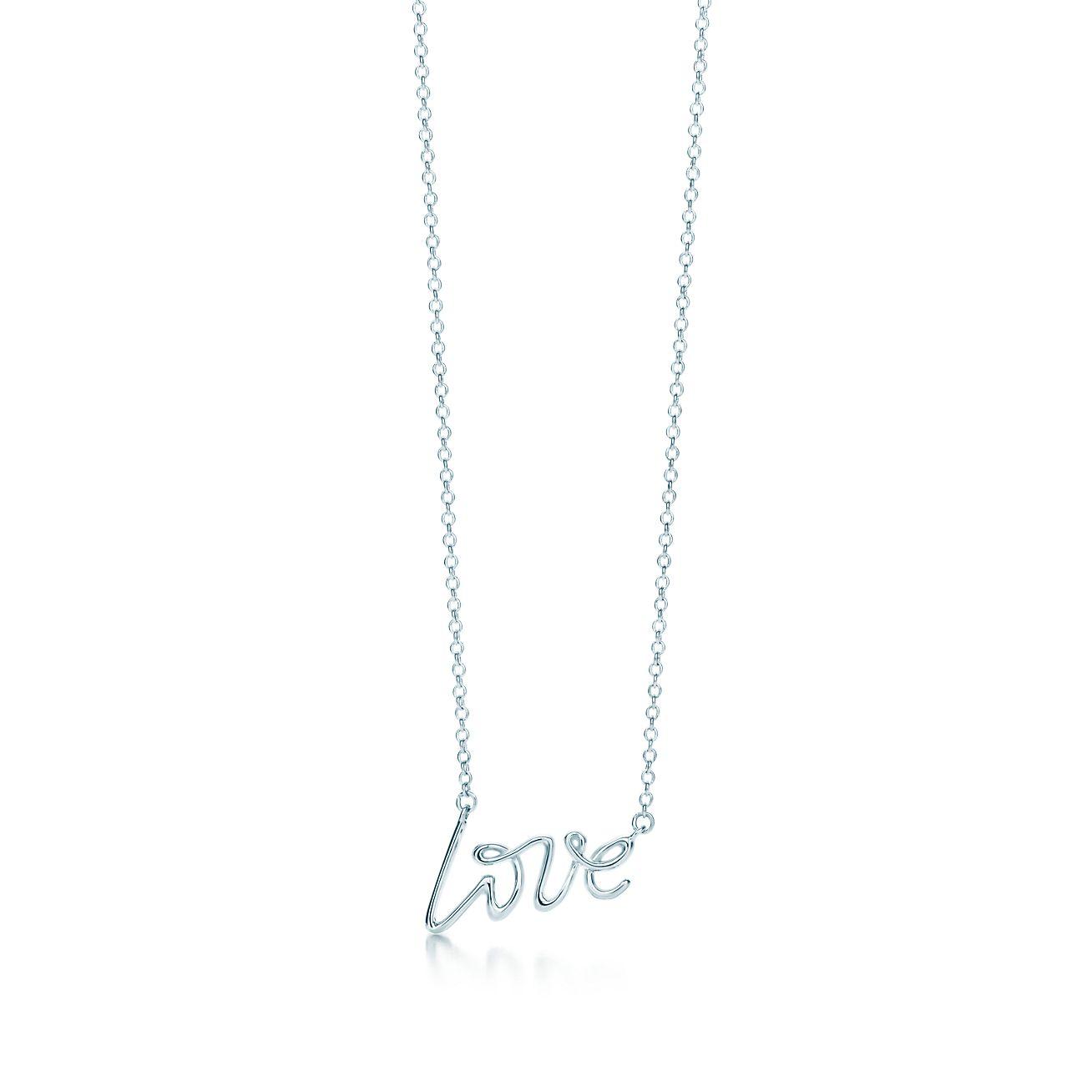 Palomas graffiti love pendant in sterling silver small tiffany palomas graffitilove pendant aloadofball Choice Image