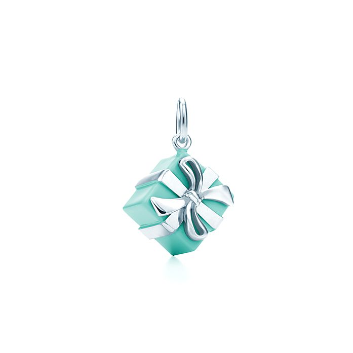 a2c24e22415d5 Tiffany Blue Box® Charm