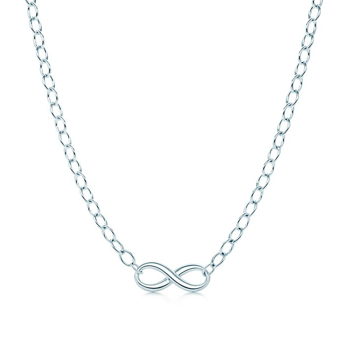a18b7b2ed Tiffany Infinity necklace in sterling silver. | Tiffany & Co.