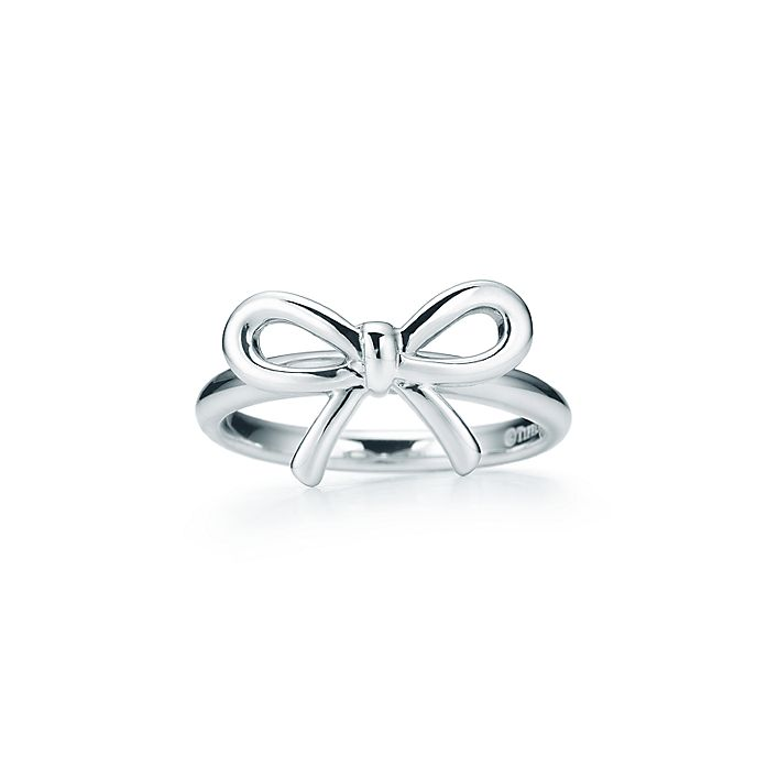 f7b677a38f51 Tiffany Bow ring in sterling silver.