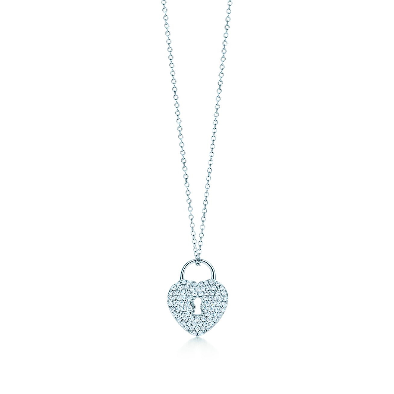 this co pendant and product lock pin tiffany necklaces category features jewelry