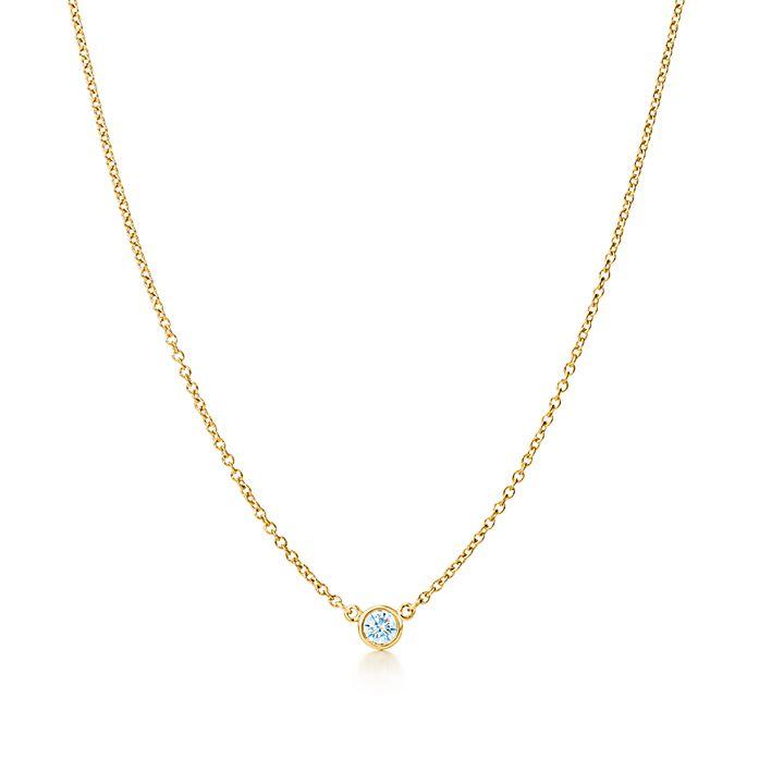 4798962b9 Elsa Peretti® Diamonds by the Yard® pendant in 18k gold with carat ...